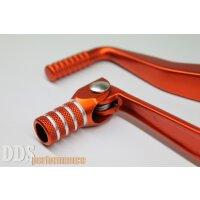 Set: Kickstarterhebel + Fußschalthebel orange