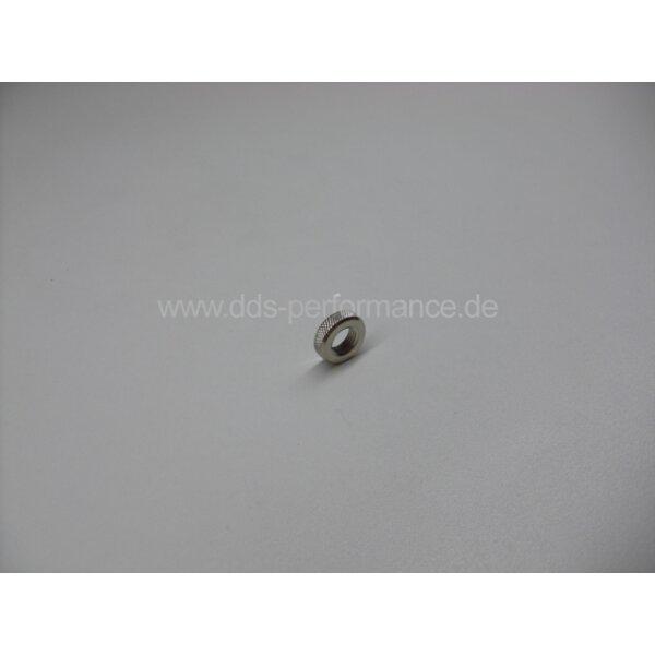 Ventilmutter - Rändelmutter aus Metall
