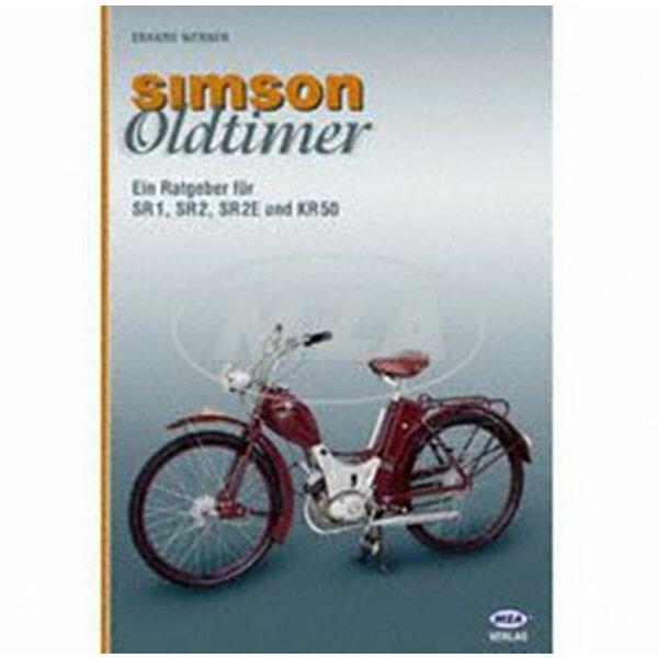 """Buch """"SIMSON - Oldtimer"""" SR1,SR2,KR50"""