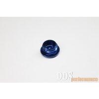 Set: Verschlußschraube - Alu blau eloxiert