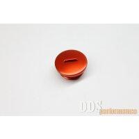 Verschlußschraube - Alu orange eloxiert -...