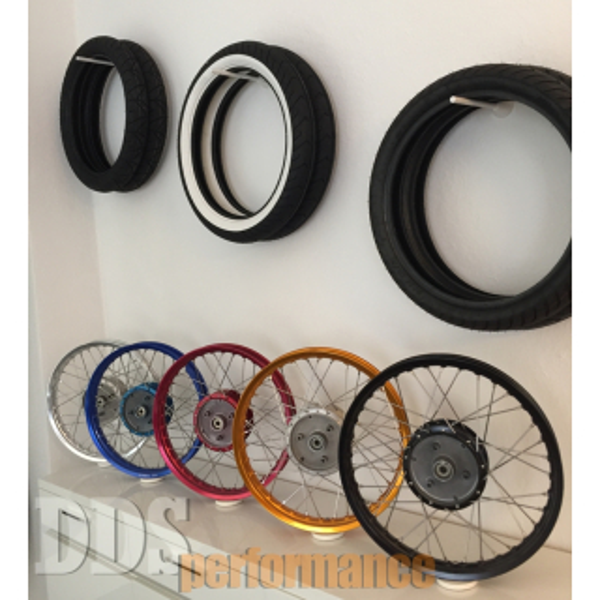 Reifenmontage für Simson Felge
