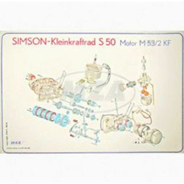 Motorregenerierung KR51/1, SR4-2 - komplett