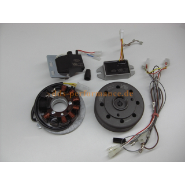 Vape Zündung inkl. Regler & Verbindungskabel (Magnete vergossen) S50,S51,S70