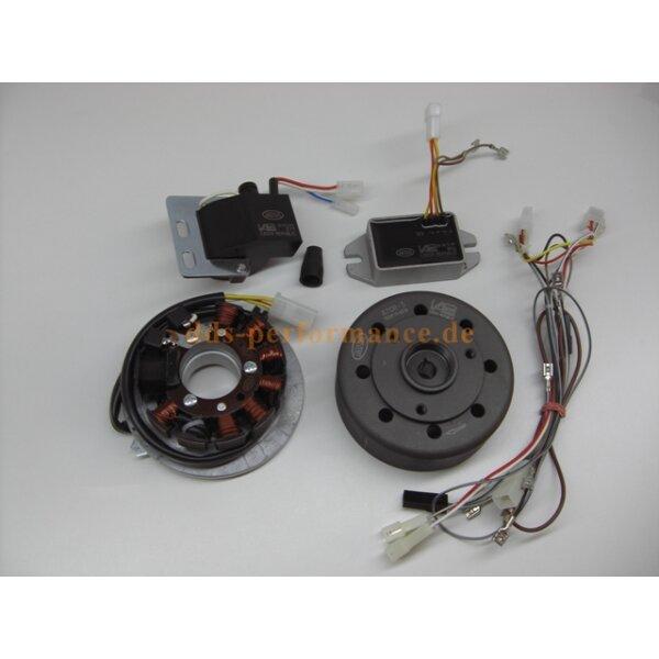 Vape Zündung inkl. Regler & Verbindungskabel (Magnete vergossen) SR50,SR80