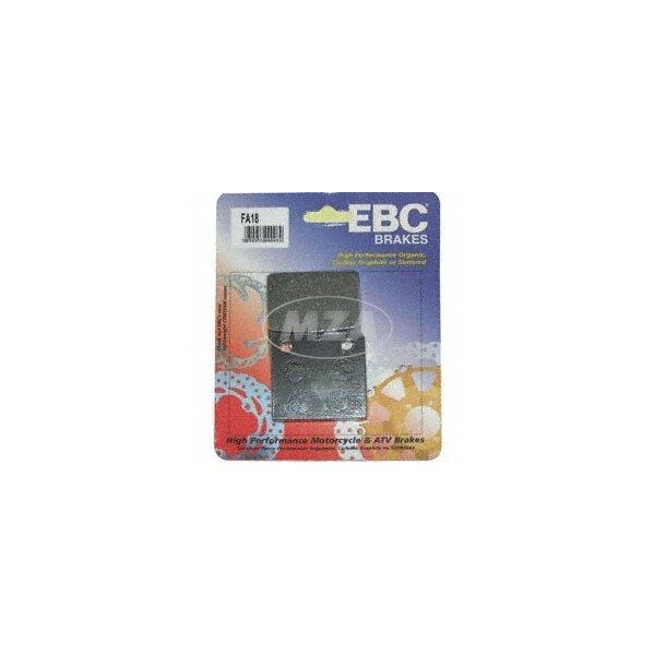 Bremsklotz für Scheibenbremse ETZ (Paar) EBC