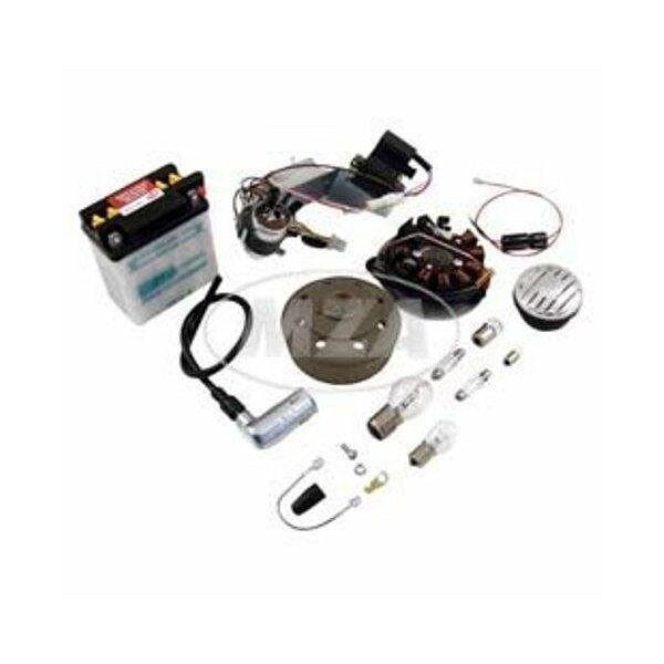Vape Umrüstsatz (mit Batterie, Hupe und Leuchtmittel) -Magnete vergossen- KR51