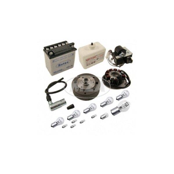 Vape Umrüstsatz (mit Batterie, Hupe und Leuchtmittel) -Magnete vergossen- SR4-2,SR4-3,SR4-4