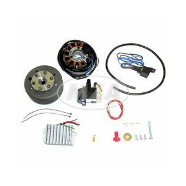 Lichtmagnetzündanlage 12V 180W mit integrierter vollelektronischer Zündung für ETZ 125/150
