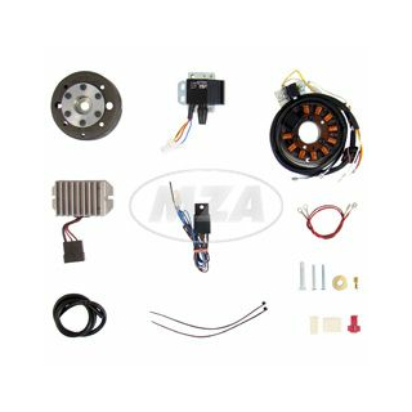 Lichtmagnetzündanlage 12V 150W mit integrierter vollelektronischer Zündung für ES175-300/0/1/2, ETS250
