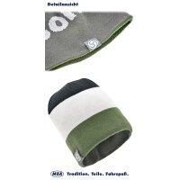 Beanie Wendemütze - zweifarbig mit Simson-Schriftzug