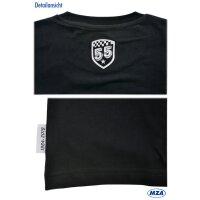 T-Shirt - schwarz - Motiv: 55 Jahre Schwalbe