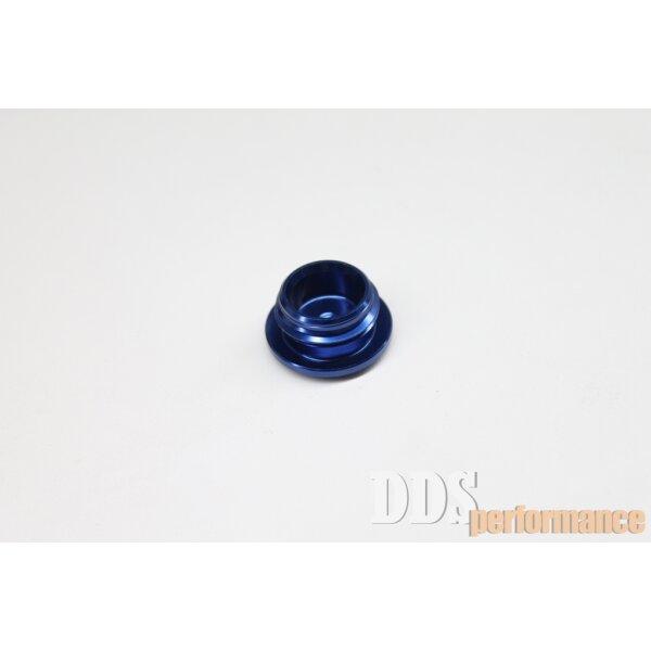 Verschlußschraube - Alu blau eloxiert - Öleinfüllöffnung