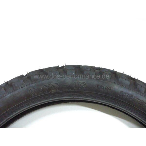 Reifen Vee Rubber (VRM 185) 2,75x16 46M (wie K42)