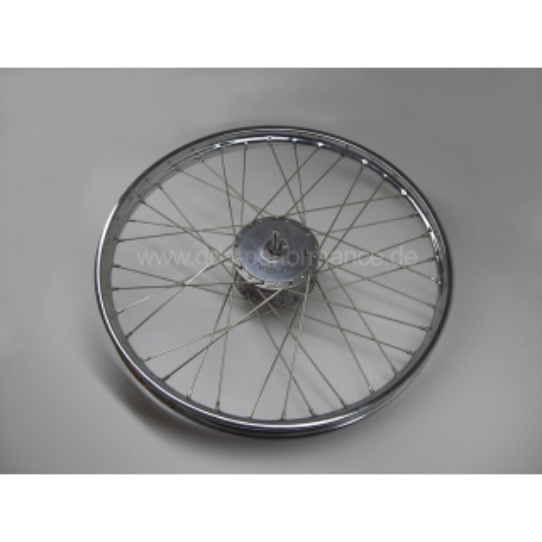 Speichenrad 1,35x19 chrom SR2