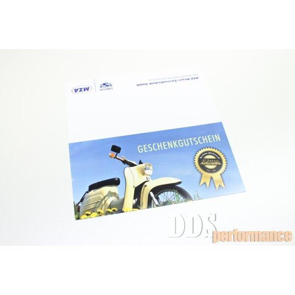 Geschenkgutschein - 10 Euro von DDS performance