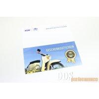 Geschenkgutschein - 50 Euro von DDS performance